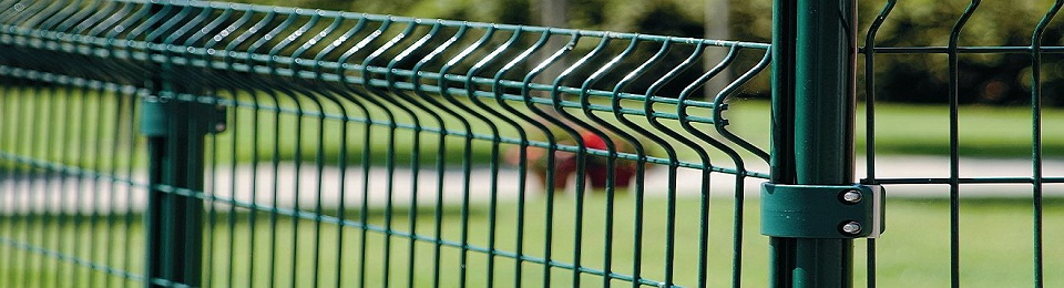 Забор из сетки, сетка на забор сварная секциями 3Д 3d сетка ЕКОСЕТКА евросетка в комплектации для забора в киеве АРЕМБУД