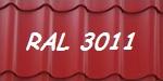 купить 3011 красная бордовая металлочерепица купить мат глянец киев цена дешево - арембуд