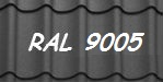 Металлочерепица 9005 мат в любой толщине купить по лучшей цене в киеве Арембуд