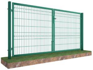 Ограждения из сетки 3D забор в Киеве распашные ворота совсем дешево лучшее качество от Арембуд